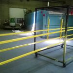 Powder coating for safety
