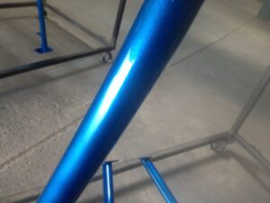 Powder Coated Blue Roll Cage