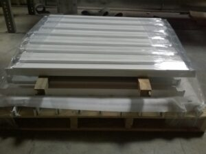 Properly packaged powdercoating