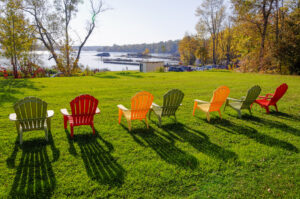 bright lawn chairs