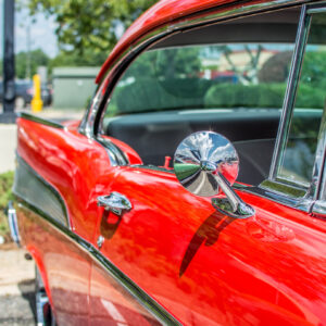 Classic vintage restored car