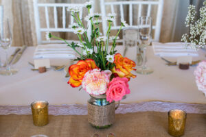 Adding Pops of Color to Your Wedding Decor